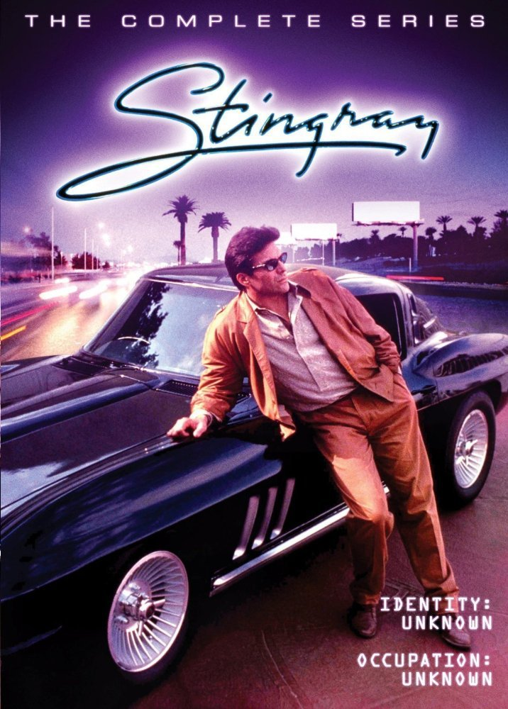 Stingray : The Complete Series (1985) - Nick Mancuso (7 DVD Set)