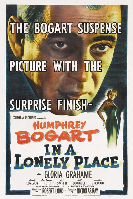 In A Lonely Place (1950) - Humphrey Bogart  DVD