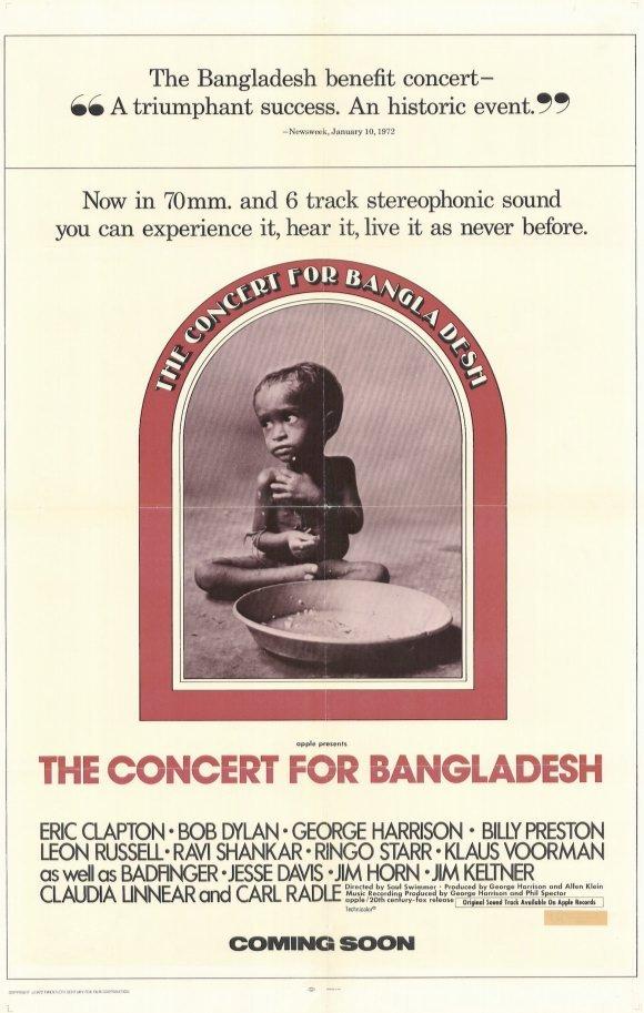 Concert For Bangladesh (1971)  DVD
