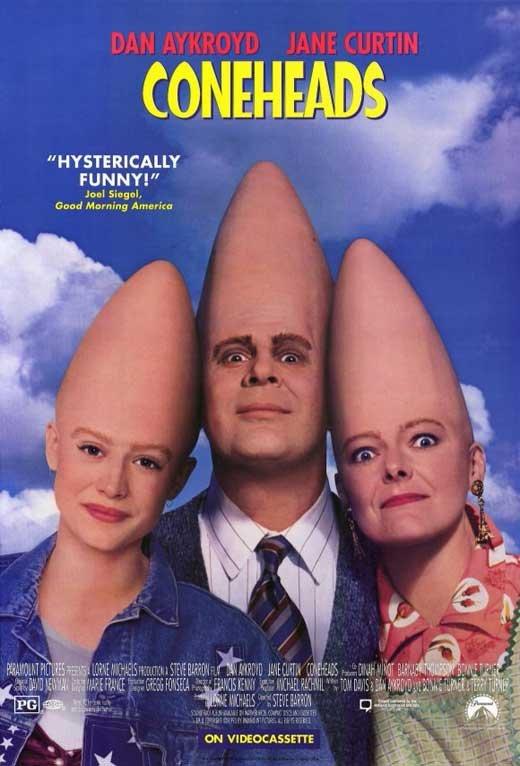 Coneheads (1993) - Dan Aykroyd  DVD