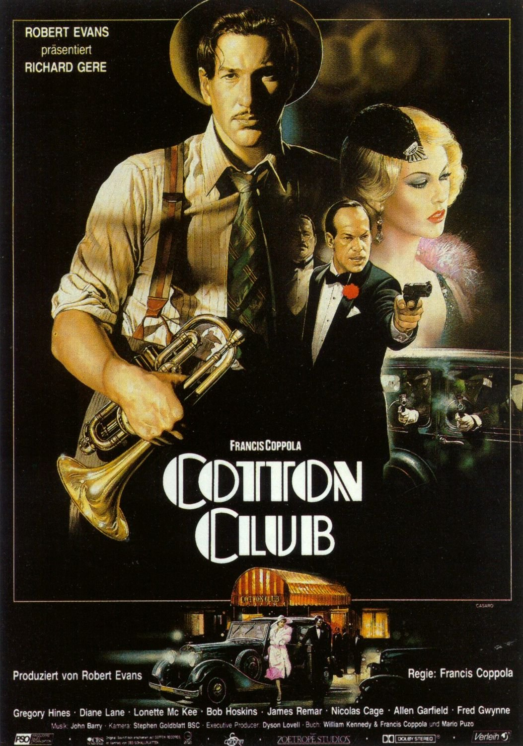 Cotton Club (1984) - Richard Gere  DVD