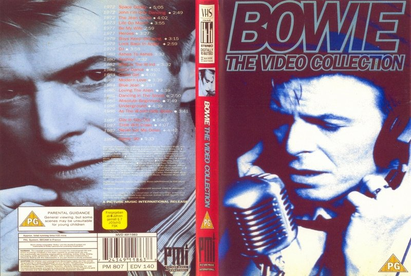 David Bowie Video Collection (1993)  DVD