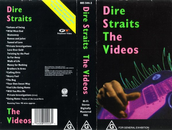 Dire Straits : The Videos  DVD