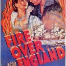 Fire Over England (1937) - Vivien Leigh  DVD