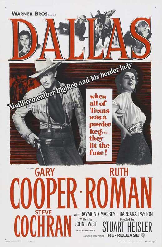 Dallas (1950) - Gary Cooper  DVD