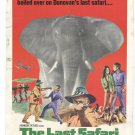 The Last Safari (1967) - Stewart Granger  DVD