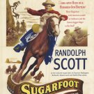 Sugarfoot (1951) - Randolph Scott  DVD