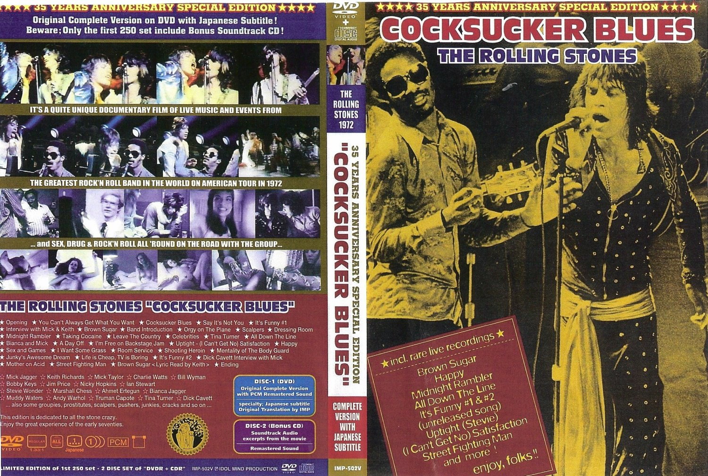 Rolling Stones - Cocksucker Blues (1972) DVD + CD