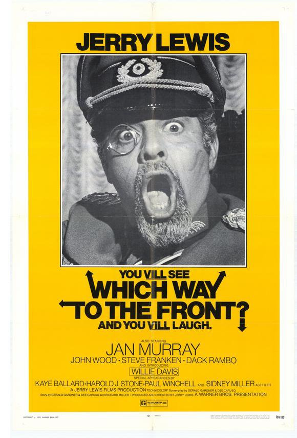 Which Way To The Front (1970) - Jerry Lewis  DVD
