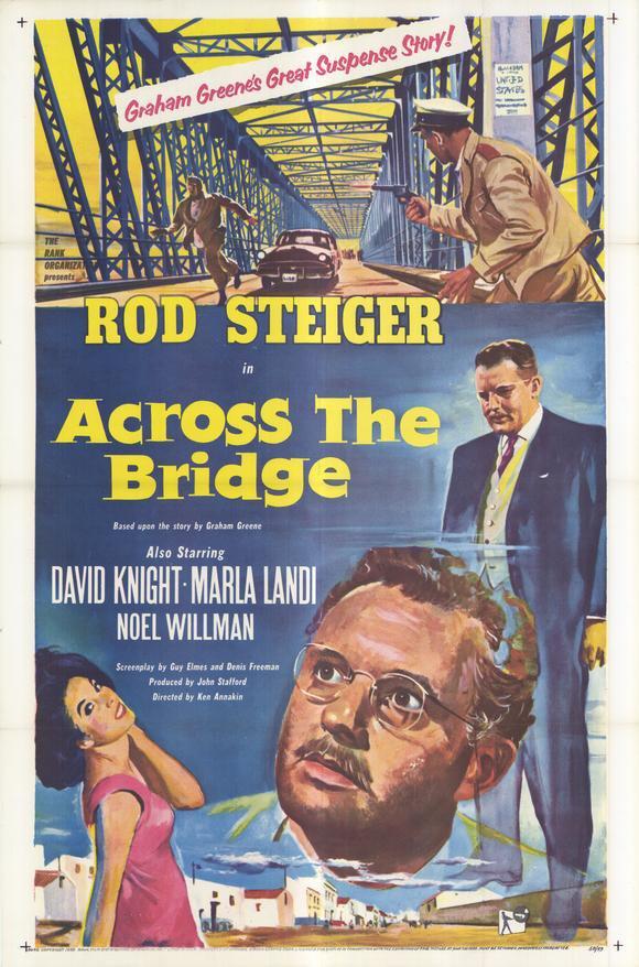Across The Bridge (1957) - Rod Steiger  DVD