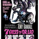 7 Faces Of Dr. Lao (1964) - Tony Randall  DVD