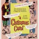 Scrooge AKA A Christmas Carol (1951) - Alastair Sim  DVD Colorized Version