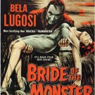 Bride Of The Monster (1955) - Bela Lugosi COLORIZED Version DVD