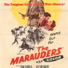 The Marauders (1955) - Dan Duryea  DVD
