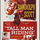 Tall Man Riding (1955) - Randolph Scott  DVD
