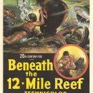 Beneath The 12-Mile Reef (1953) - Robert Wagner  DVD