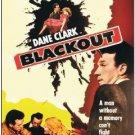 Blackout AKA Murder By Proxy (1954) - Dane Clark  DVD