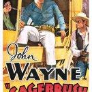 An Innocent Man AKA Sagebrush Trail (1933) - John Wayne  COLOR Version DVD