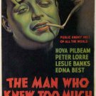 The Man Who Knew Too Much (1934) - Peter Lorre  DVD