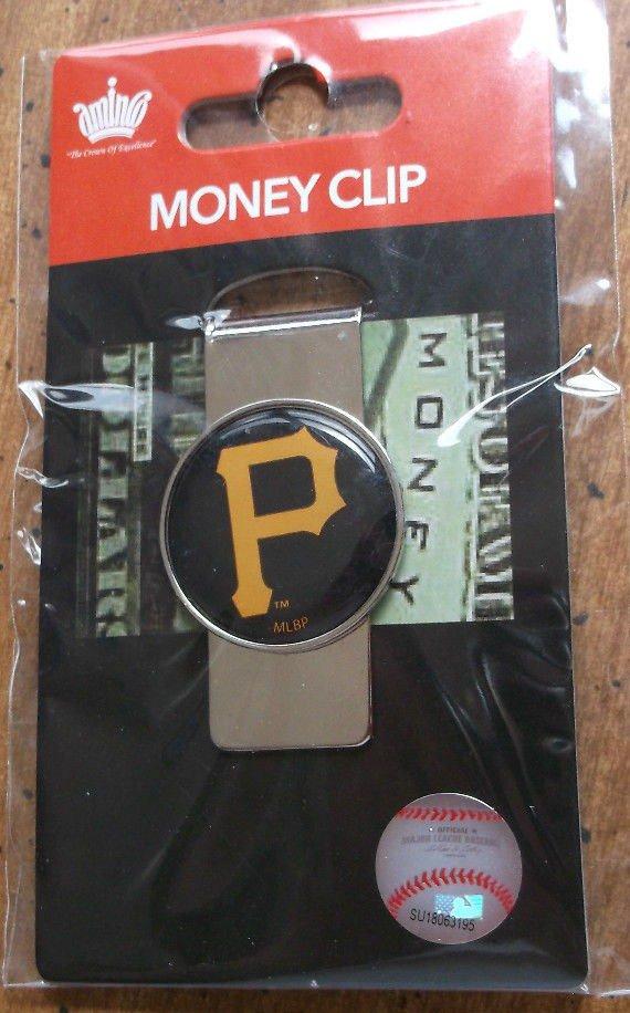 Pittsburgh Pirates Money Clip Metal NEW