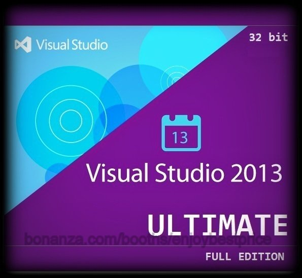 Visual Studio 2013 Ultimate 32 bit Full Edition Software Download Link & Key