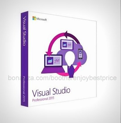 Visual Studio 2015 Professional 32 64 bit Full Edition Software Link Licence Key