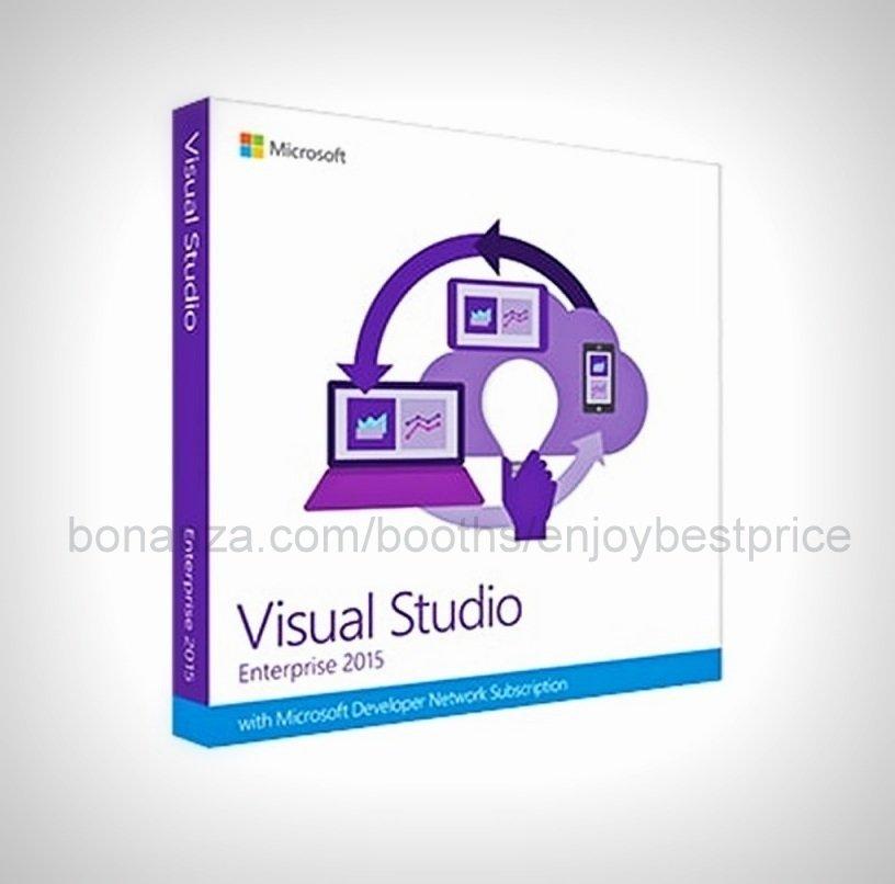 Visual Studio 2015 Enterprise 32 64 bit Full Edition Software Download Link +KEY