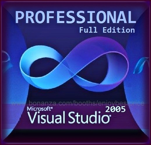 Visual Studio 2005 Professional 32 bit Full Edition Software Download Link & Key