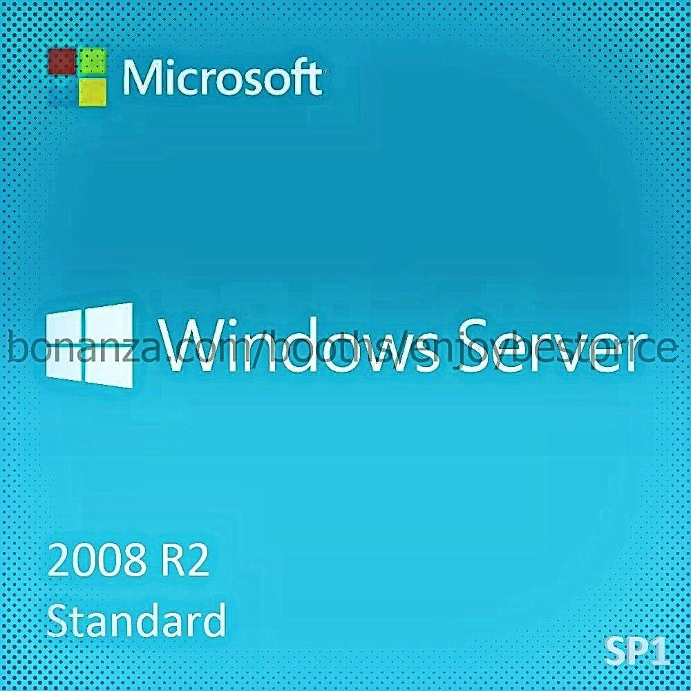 Microsoft Windows Server 2008 R2 Standard SP1 64bit Lifetime KEY + Download Link