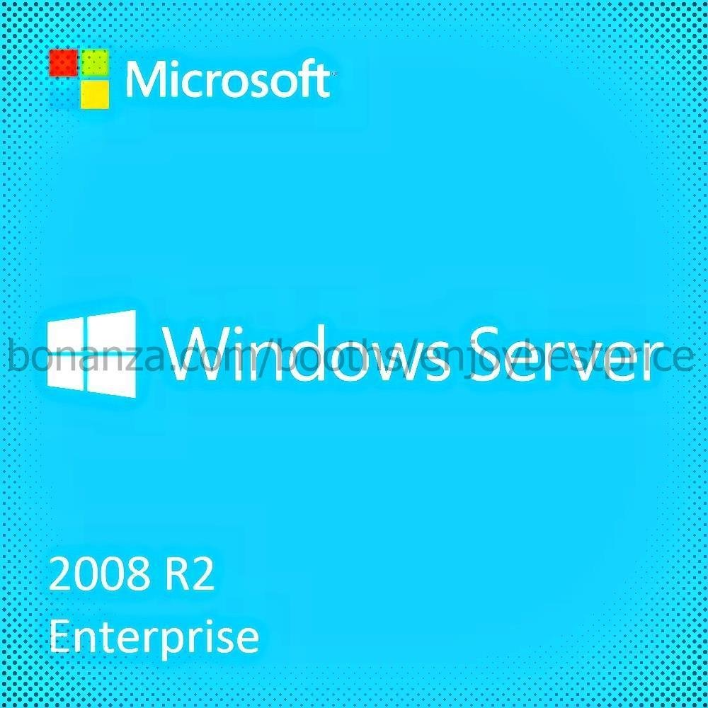 Microsoft Windows Server 2008 R2 Enterprise 64 bit Lifetime KEY + Download Link