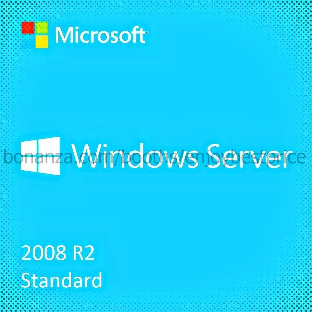 Microsoft Windows Server 2008 R2 Standard 64 bit Lifetime KEY + Download Link
