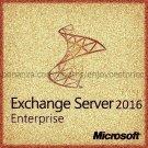 Microsoft Exchange Server 2016 Enterprise 64 bit 1 User CAL |GENUINE| KEY and D/L