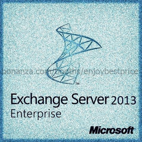 Microsoft Exchange Server 2013 Enterprise 64bit 1 User CAL|Lifetime| KEY and D/L