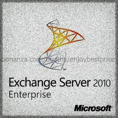 Microsoft Exchange Server 2010 Enterprise 64bit 1 User CAL |Lifetime|KEY and D/L