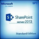 Sharepoint Server Standard Edition 2013 SP1 Lifetime Licence Key + Software Pack