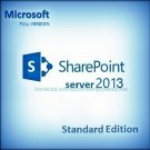 Sharepoint Server Standard Edition 2013 Lifetime Licence Key CAL + Software Pack