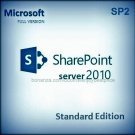 Sharepoint Server Standard Edition 2010 SP2 Lifetime Licence Key + Software Pack