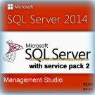 SQL Server 2014 Management Studio SP2 32 64 bit Lifetime Edition Download Link