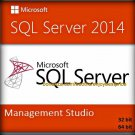 SQL Server 2014 Management Studio 32 64 bit Lifetime Full Edition Download Link