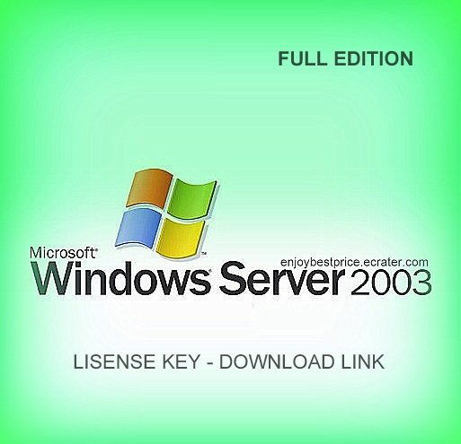 Microsoft Windows Server 2003 Standard 64 bit Lifetime KEY +