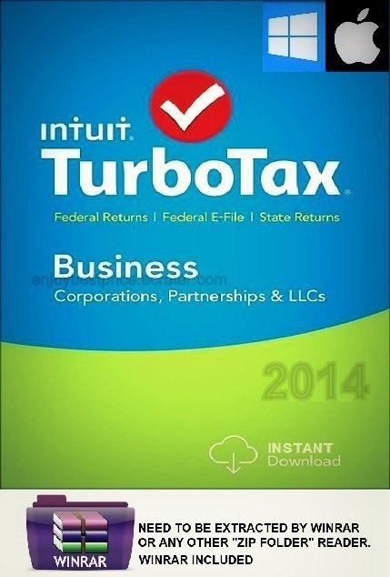 Turbotax Business 2014 Mac Windows With Federal