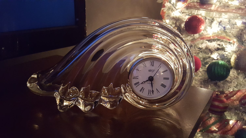 Mikasa Crystal Clock
