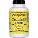 Vitamin D3, 5,000 IU, 120 Softgels by Healthy Origins