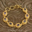 Bracelet Genuine 24K Gold Vermeil over Sterling SILVER 19.62 g ~ Size 6 3/4 inch