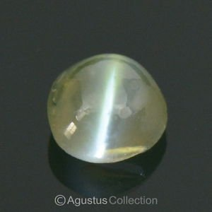 0.40 cts ALEXANDRITE Cats Eye Color-change Oval Cabochon Natural Gem Sri Lanka