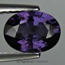 1.43 cts Purple SPINEL Oval Facet-cut Natural Gemstone Burma