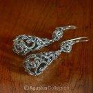 Hook EARRINGS Genuine 925 Sterling Silver 11.82 g ~ Handmade in Bali