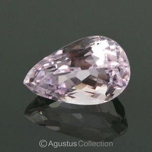 8.65 cts Natural Pink KUNZITE Pear Drop Facet-Cut Clean Gemstone Afghanistan