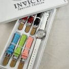 INVICTA LUPAH SPECIAL EDITION TRINITE WATCH W/ 7 REMOVABLE LEATHER STRAPS