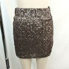 LOVERS + FRIENDS METALLIC SEQUIN MINI SKIRT SIZE XS